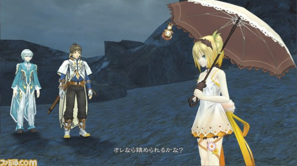 Edna and Her Parasol | Tales of Zestiria