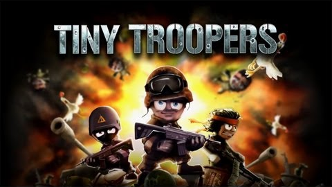Tiny Troopers - Logo | oprainfall