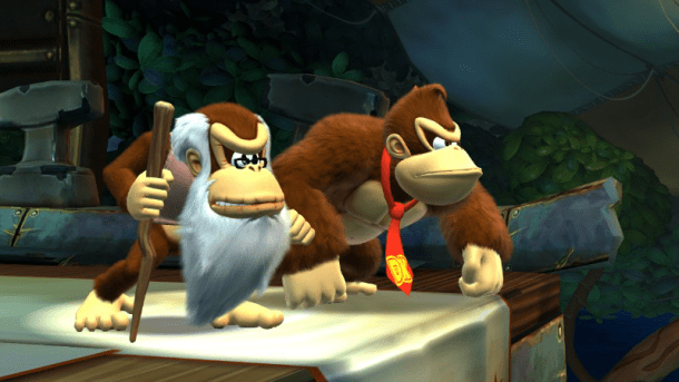 Donkey Kong Country: Tropical Freeze | DK and Cranky