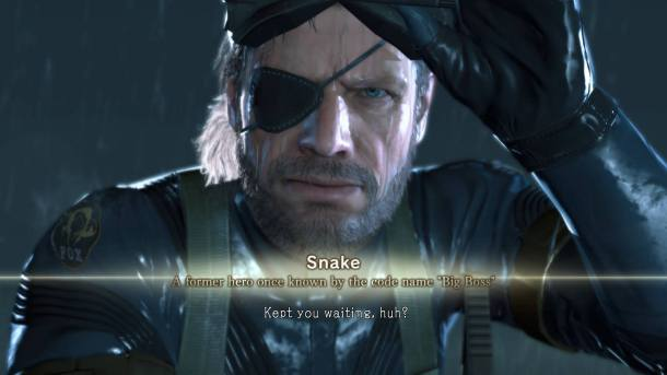 Metal Gear Solid V | Big Boss