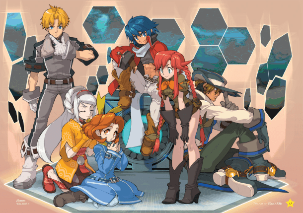 Characters | Wild Arms 5