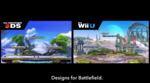 Super Smash Bros - Design for Battlefield