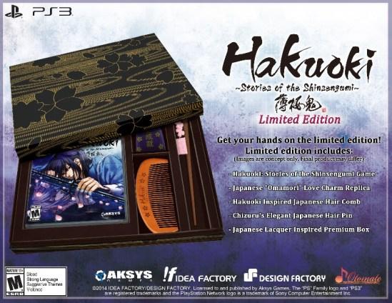 Hakuoki: Stories of the Shinsengumi LE | oprainfall