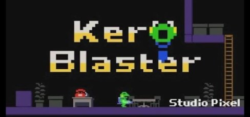 Kero Blaster - Logo |  oprainfall