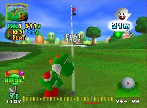 Mario Golf 64 - Club Nintendo | oprainfall