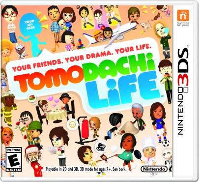 Tomodachi Life - NA Box Art