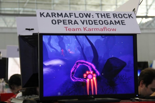 Karmaflow: The Rock Opera Videogame - PAX East 2014 | oprainfall
