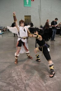 Light and Dark Pit Cosplay
