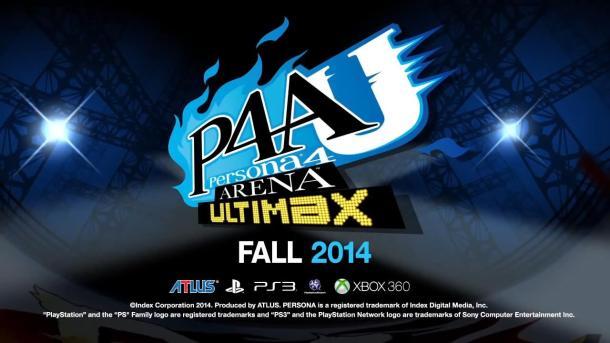 Logo | Persona 4 Arena Ultimax