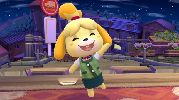 Isabelle on the Animal Crossing Stage - Smashing Saturdays   oprainfall
