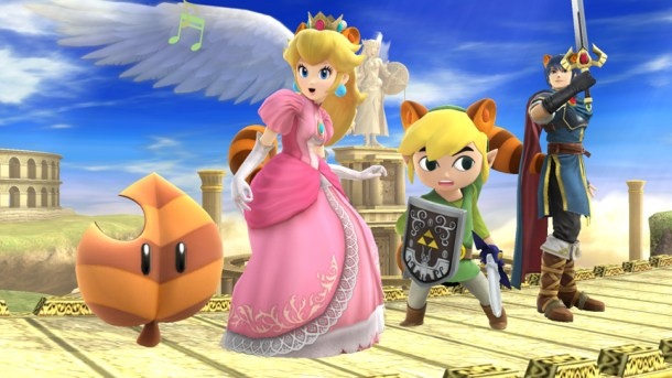 Smashing Saturdays - Peach, Link, and Marth: Super Leaf | oprainfall