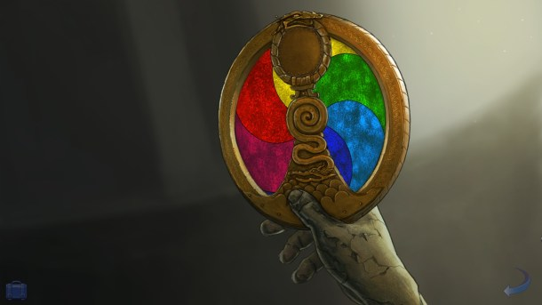 Broken Sword 5 | Color Wheel Puzzle