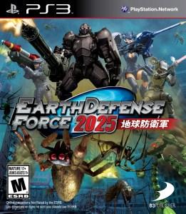 Earth Defense Force 2025 | Boxart