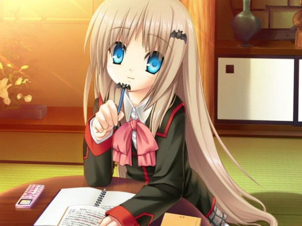 Kud Studying | Little Busters!