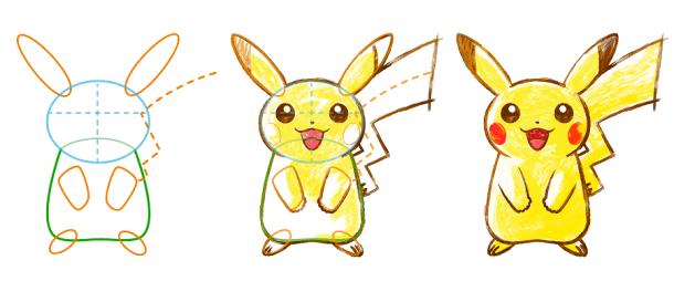 Pokemon Art Academy - Drawing Pikachu