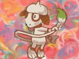 Pokemon Art Academy - Smeargle