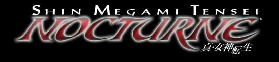 Shin Megami Tensei: Nocturne - Logo | oprainfall