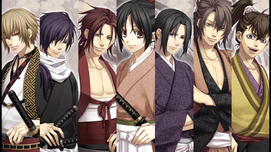 Hakuoki: Stories of the Shinsengumi | Cast