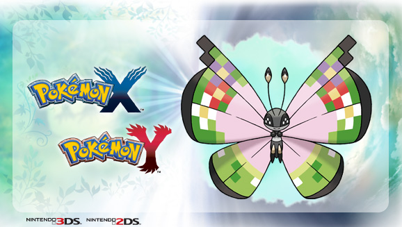 Fancy Pattern Vivillon | Pokemon X & Y