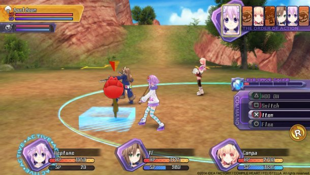 Hyperdimension Neptunia Re;Birth | Neptune Combat