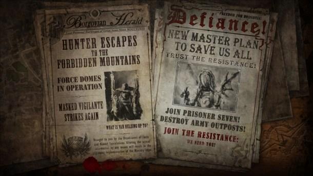 The Incredible Adventures of Van Helsing II  Newspaper