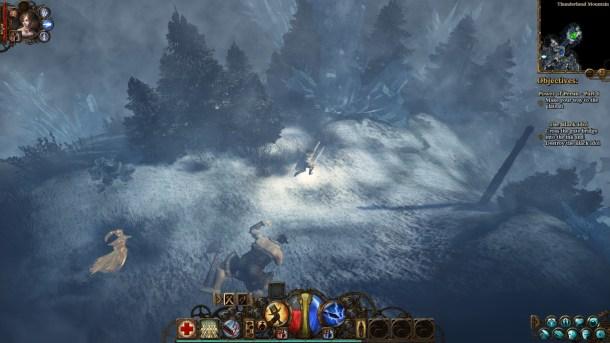 The Incredible Adventures of Van Helsing II | Snowy Forest