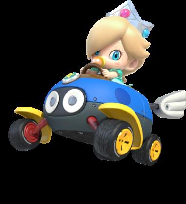 Mario Kart 8 - Baby Rosalina