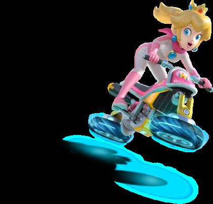 Mario Kart 8 - Princess Peach | oprainfall