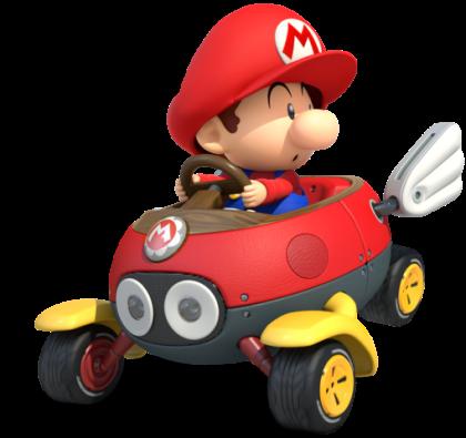 Mario Kart 8 - Baby Mario