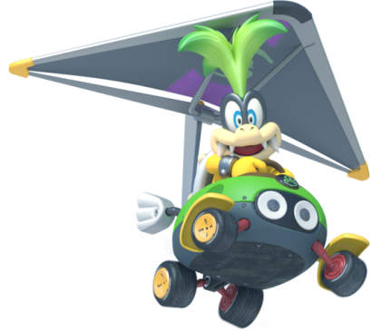 Mario Kart 8 - Iggy | oprainfall