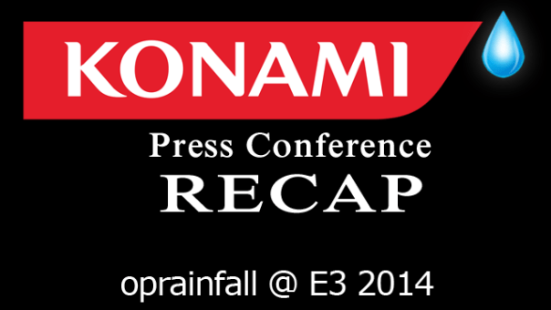 Konami Press Conference | oprainfall