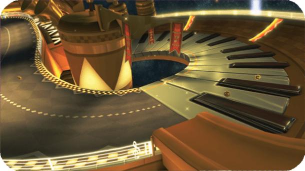 Mario Kart 8 - Music Park (3DS) | oprainfall