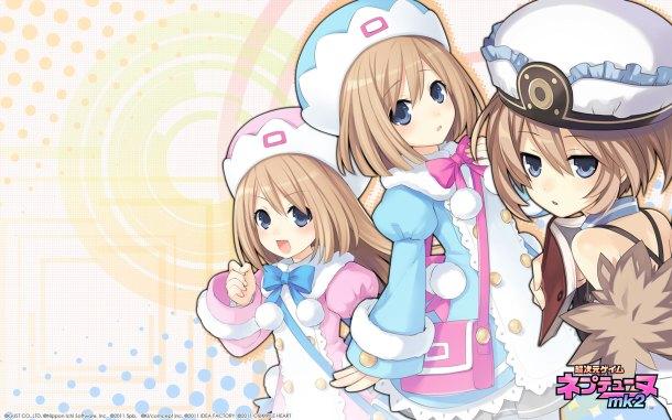 Hyperdimension Neptunia | White Sisters