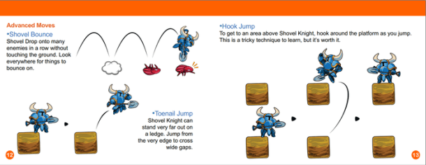 Shovel Knight Manual - Jumping and Bouncing