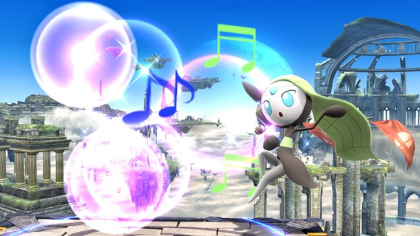 Smashing Saturdays:  Super Smash Bros. - Meloetta | oprainfall
