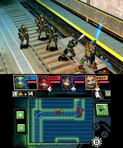 Teenage Mutant Ninja Turtles screens
