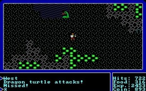 Ultima (1987 DOS Version) - Battle
