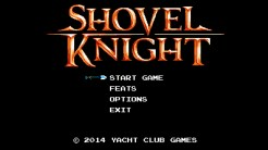 Shovel Knight - Title Screen