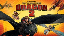How to Train Your Dragon - Title Screen