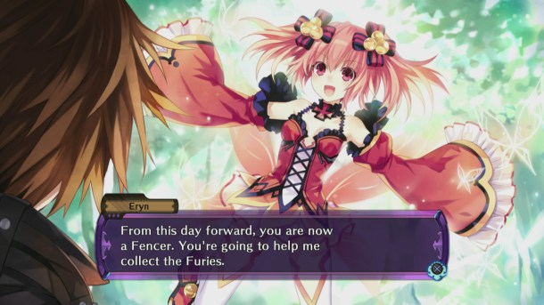 Fairy Fencer F | Eryn