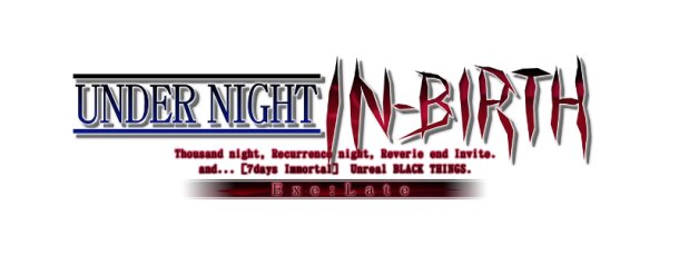 Under Night In-Birth Exe-Late Logo