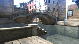 Bayonetta 2 | In-game Waterway