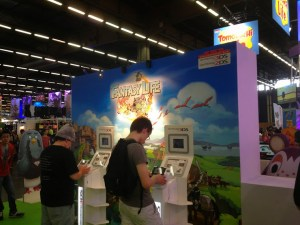Some fans playing Fantasy Life on 3DS