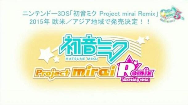 Hatsune Miku: Project MIRAI Remix
