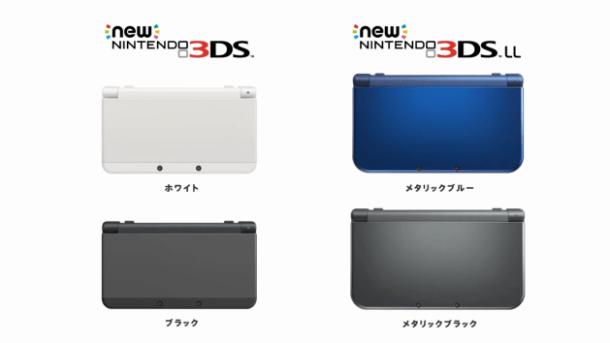 New 3DS | comparison