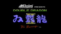 Double Dragon II The Revenge - Title Screen