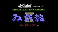 Double Dragon II The Revenge - Title Screen