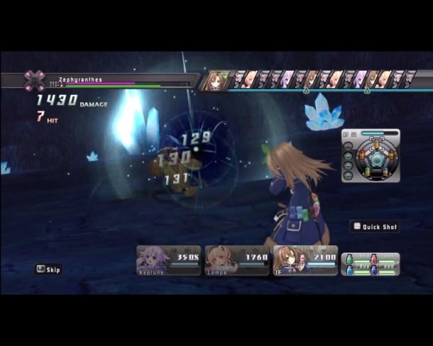 Hyperdimension Neptunia | Iffy Combat