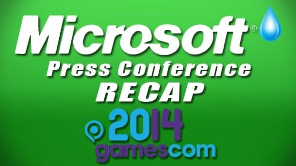 Microsoft's Xbox Press Conference Recap - Gamescom 2014