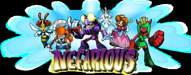 Nefarious - Logo